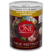 Purina One Smartblend True Instinct Turkey&Venison in Gravy