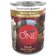 Purina One Smartblend True Instincts Turkey&Venison w/Gravy