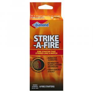 Diamond Strike-A-Fire Fire Starters