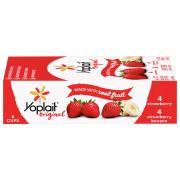 Yoplait Original Strawberry & Strawberry Banana Fridge Pack