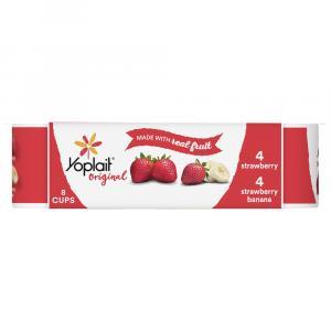 Yoplait Original Strawberry & Strawberry Banana Fridge Pack