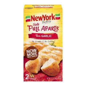 New York Pull Aparts Garlic Bread