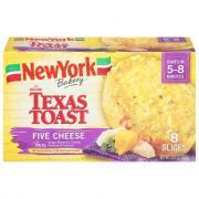 New York Garlic & Five Cheese Texas Toast
