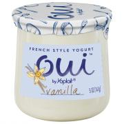 Yoplait OUI French Style Vanilla Yogurt