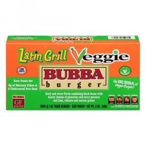 Bubba Burger Latin Grill Veggie Burger