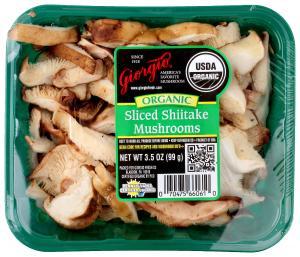 Giorgio Organic Sliced Shiitake Mushrooms