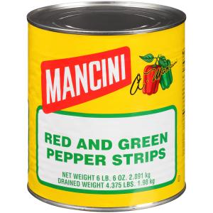 Mancini Red and Green Pepper Strips