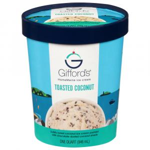 Gifford's Toasted Coconut Ice Cream