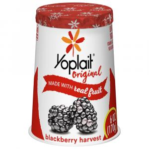 Yoplait Original Blackberry Yogurt