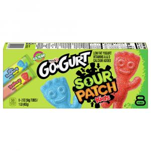 Yoplait Go-Gurt Sour Patch Kids Yogurt