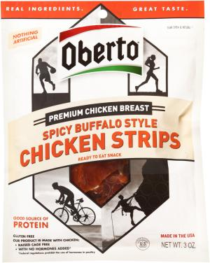 Oberto Chicken Strip Spicy Buffalo Style