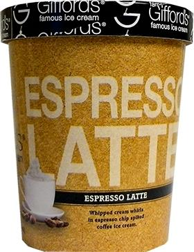 Gifford's Espresso Latte Ice Cream