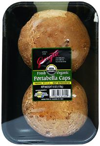 Giorgio Organic Portabella Mushroom Caps