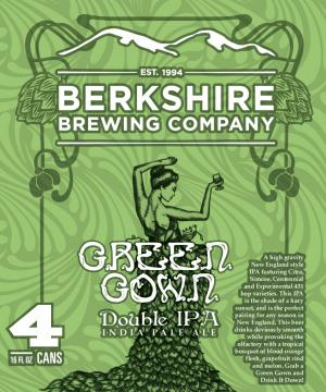 Berkshire Brewing Companany Green Gown Double IPA