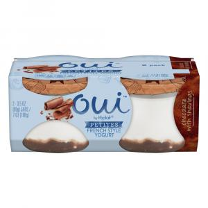 Yoplait OUI Petites French Yogurt Chocolate