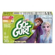 Yoplait Go-Gurt Frozen Strawberry Vanilla Yogurt
