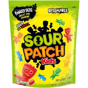 Sour Patch Kids Resealable Bag