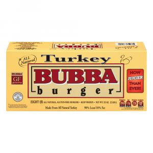 Bubba Turkey Burgers