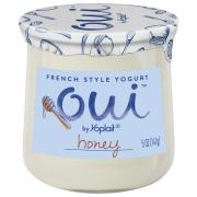 Yoplait OUI French Yogurt Honey