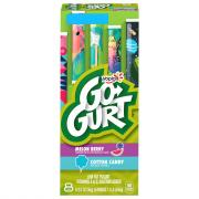 Yoplait Go-Gurt Cotton Candy Melon Berry Yogurt