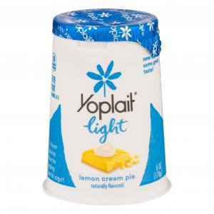 Yoplait Light Fat Free Lemon Cream Pie Yogurt