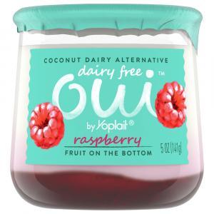Yoplait Oui Dairy Free Raspberry