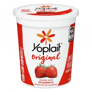 Yoplait Low Fat Strawberry Yogurt