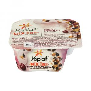 Yoplait Mix-ins Cherry Chocolate Almond Yogurt
