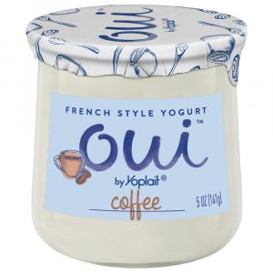 Yoplait Oui Coffee Yogurt