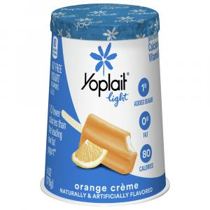 Yoplait Light Orange Creme Yogurt