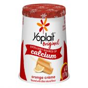 Yoplait Orange Creme Yogurt