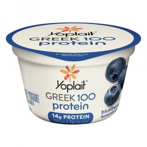 Yoplait Greek 100 Calories Blueberry Yogurt