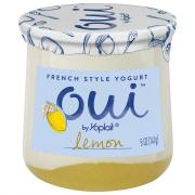 Yoplait OUI French Style Lemon Yogurt