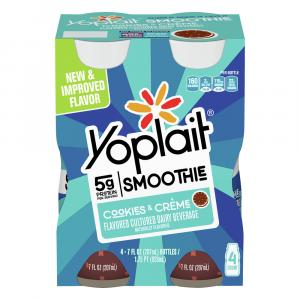 Yoplait Cookies & Creme Smoothie
