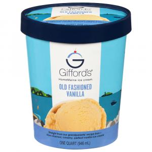 Gifford's Old Fashioned Vanilla Ice Cream