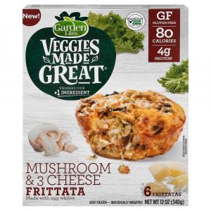 Veggies Made Great Mushroom 3Cheese Egg White Frittata