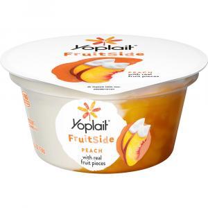 Yoplait Fruitside Peach Yogurt