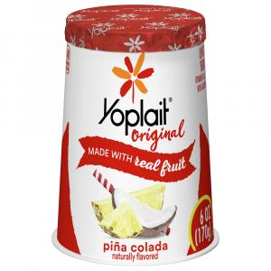 Yoplait Original Pina Colada Yogurt