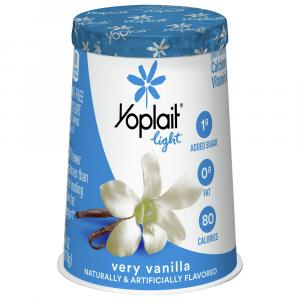Yoplait Light Very Vanilla Yogurt