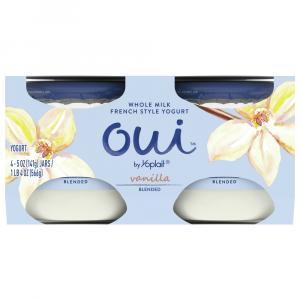Yoplait OUI Vanilla Yogurt