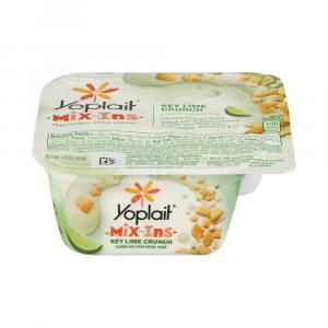 Yoplait Mix-ins Key Lime Crunch Yogurt