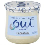 Yoplait OUI French Style Coconut Yogurt