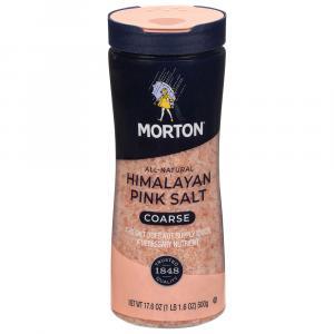 Morton All Natural Coarse Himalayan Pink Salt