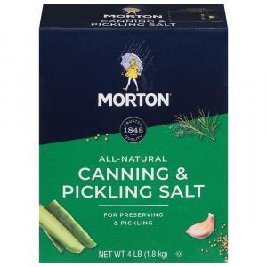 Morton Canning & Pickling Salt