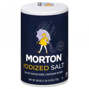 Morton's Iodized Salt at Hannaford