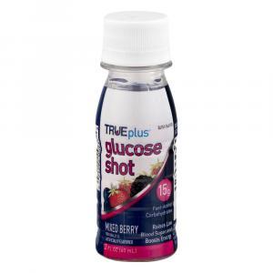 True Plus Glucose Shot Mix Berry Flavored