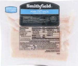 Smithfield Smoked Pork Fat Back
