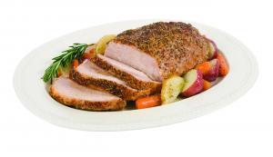 Hannaford All Natural Blade Half Pork Roast W/center