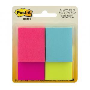 Post-It Fluorescent Pads
