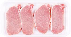 All Natural Pork Boneless Center Cut Chop Thin Sliced